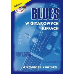 Blues w gitarowych riffach + CD, A. Vinitsky, ABsonic